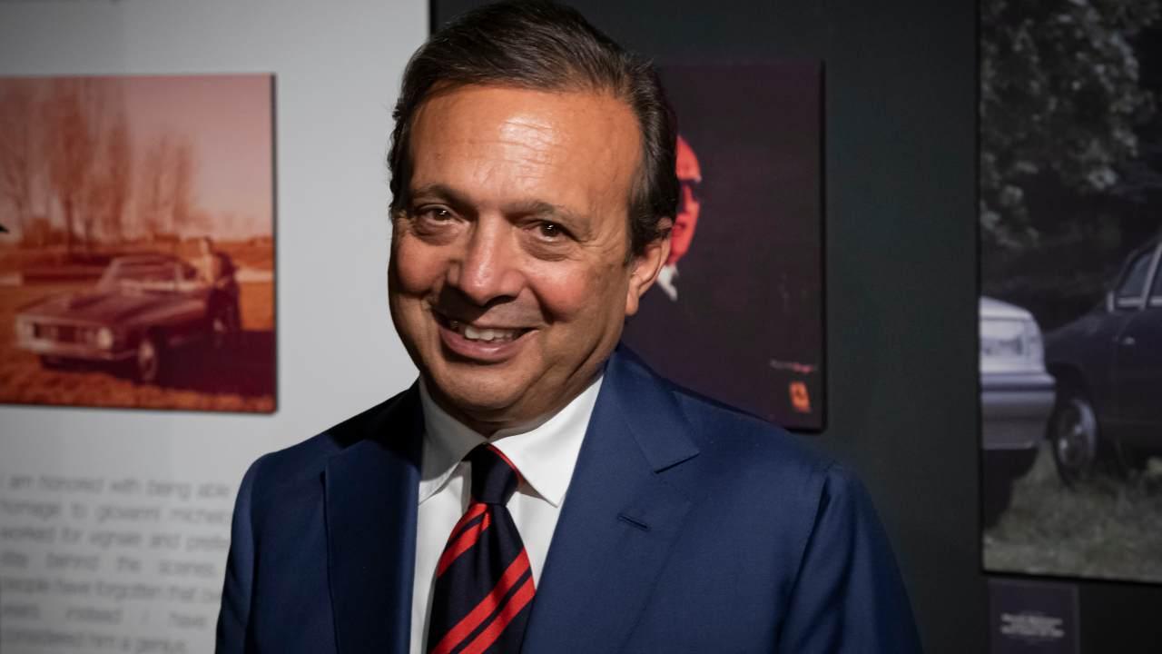 Il presentatore Piero Chiambretti (foto di Giorgio Perottino/Getty Images for Museo Nazionale dell'Automobile).