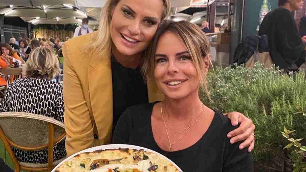 Simona Ventura e Paola Perego