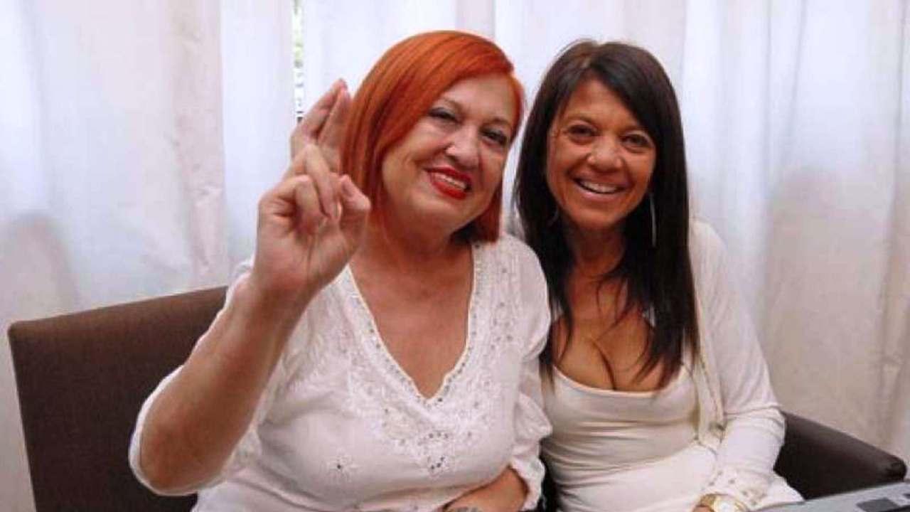 Wanna Marchi e la figlia Stefania Nobile (foto © Oggi).