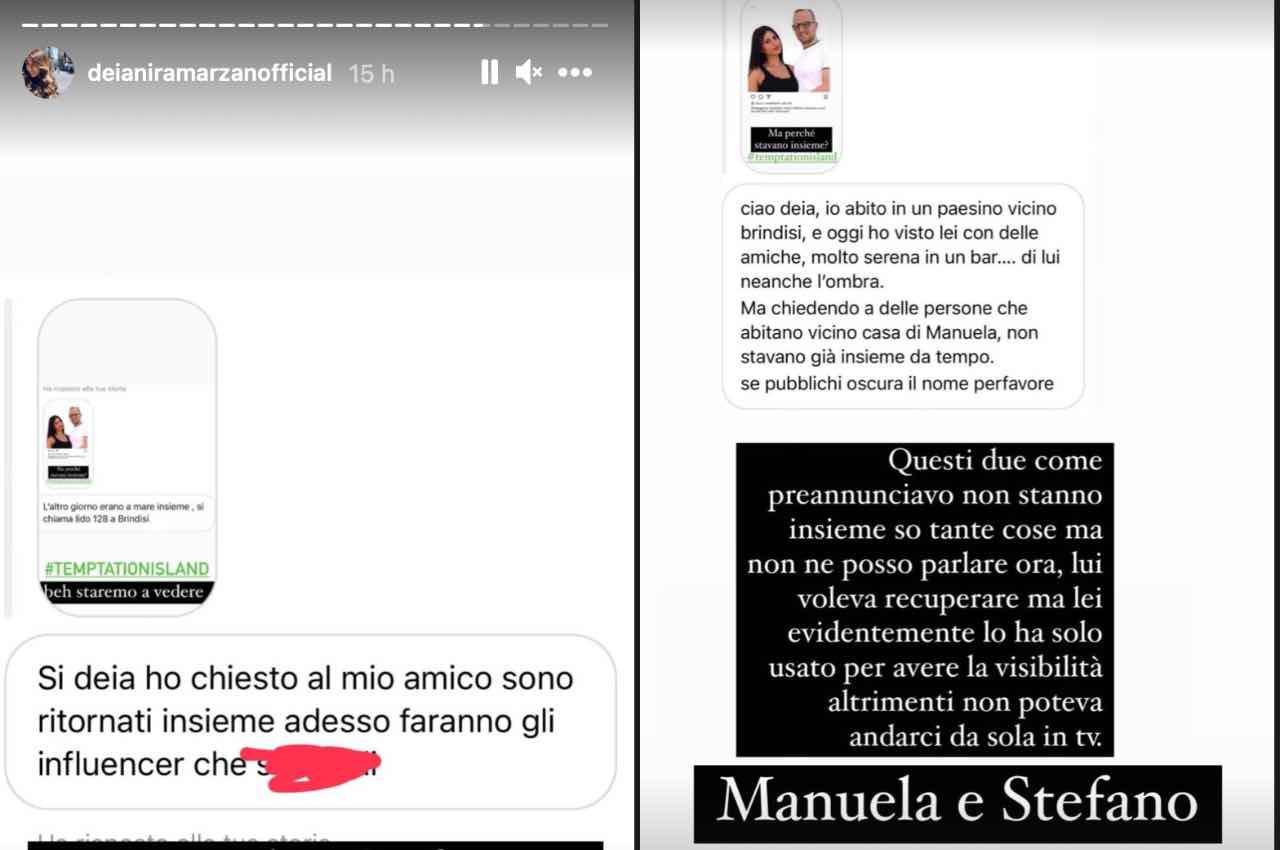 Manuela e Stefano di Temptation Island