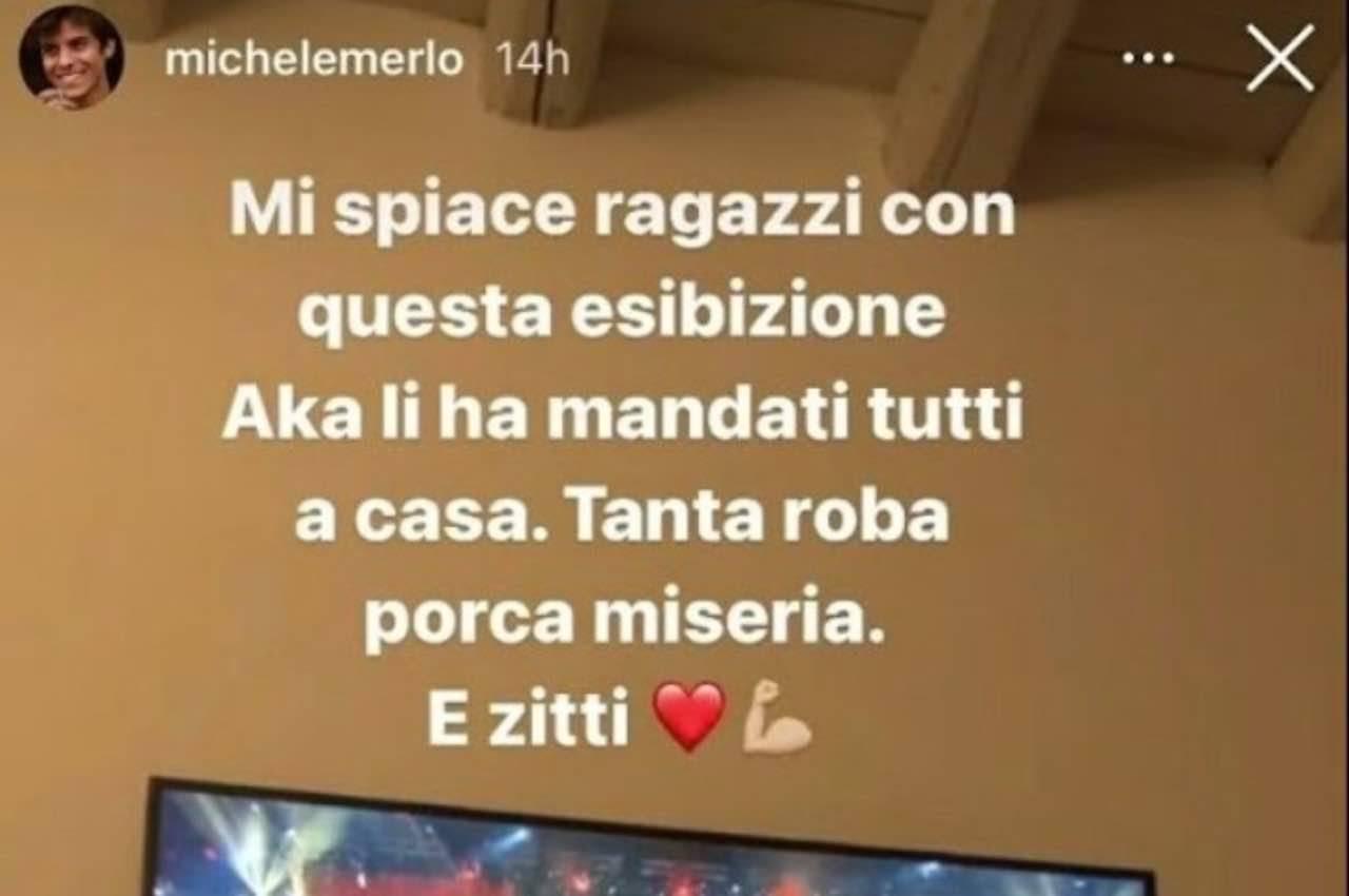 Michele Merlo su Aka7even