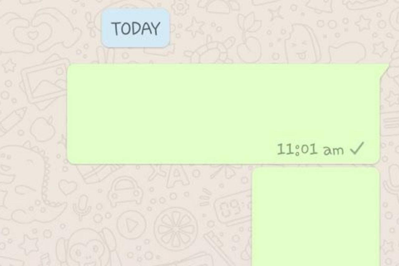 WhatsApp messaggi invisibili