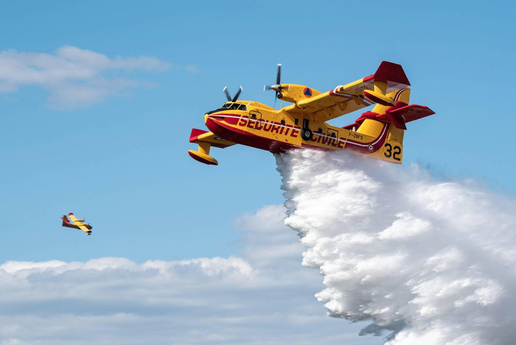 Incendi Sardegna - Foto Dipartimento Protezione Civile