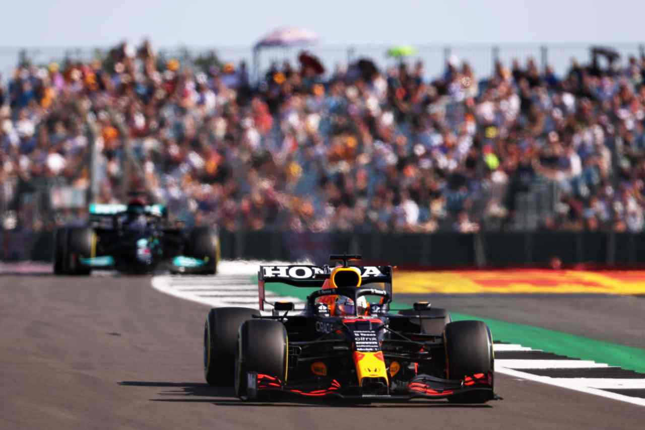 F1 Gran Bretagna streaming gratis