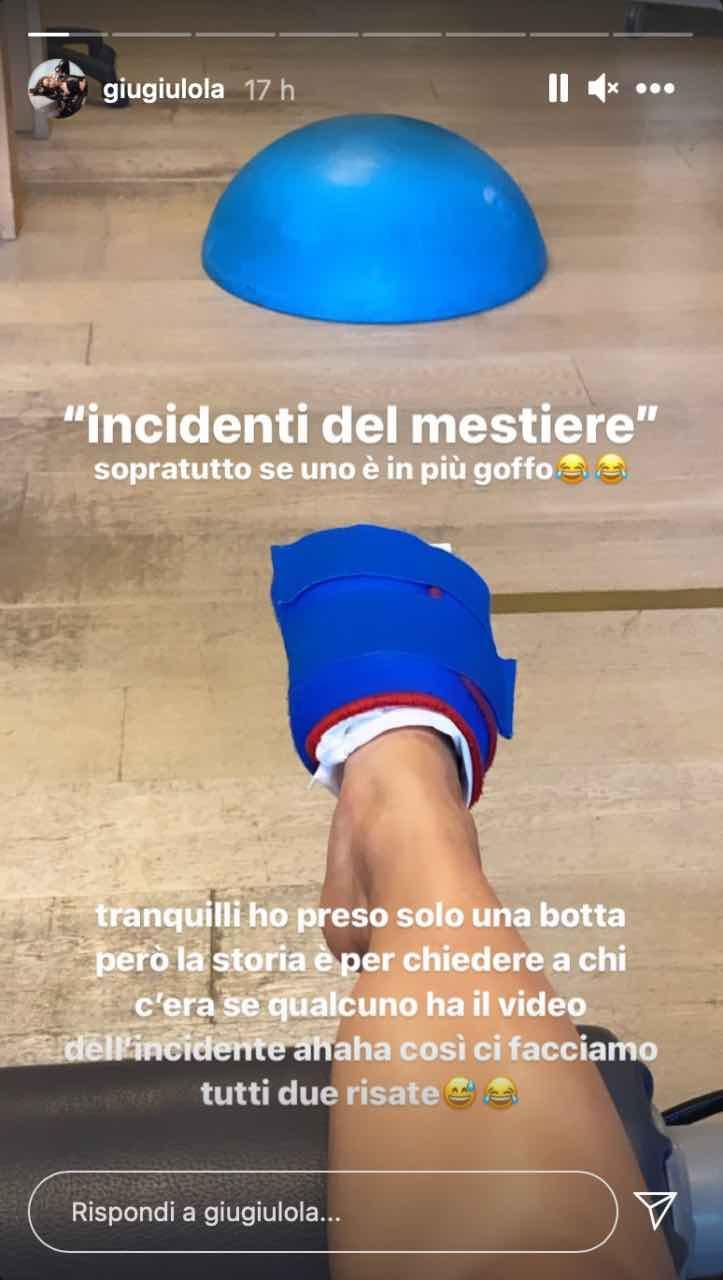 Amici 20, incidente per Giulia Stabile