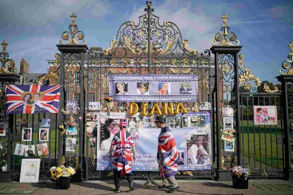 Statua per Lady Diana