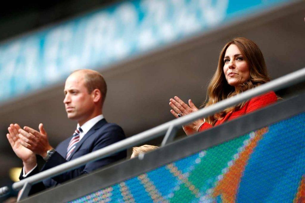 William e Kate Euro 2020