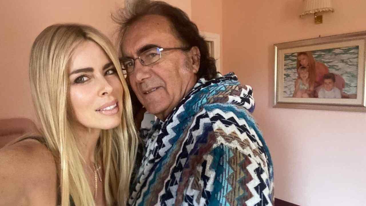 Il cantante Al Bano e la moglie Loredana Lecciso (foto Instagram).