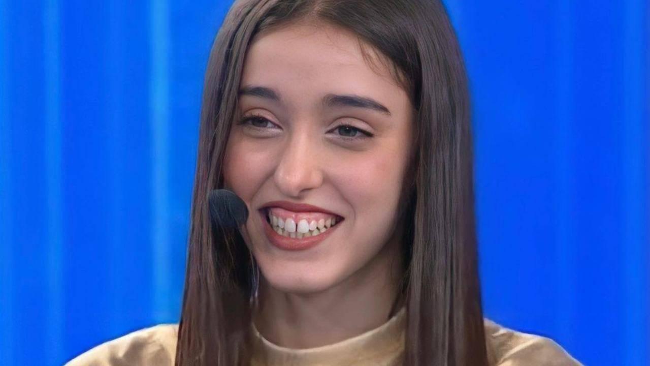 """La ballerina di """"Amici"""" Giulia Stabile (foto Mediaset)."""