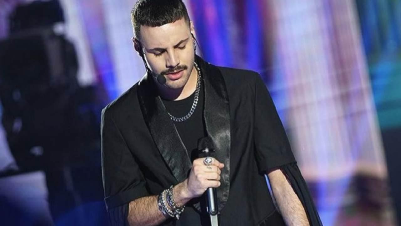 Il cantante di Amici 20, Raffaele Renda (foto Instagram).