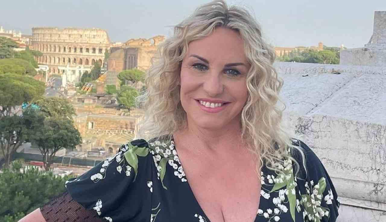 La conduttrice Antonella Clerici alla presentazione dei Palinsesti Rai a Roma, 2021 (foto Instagram).