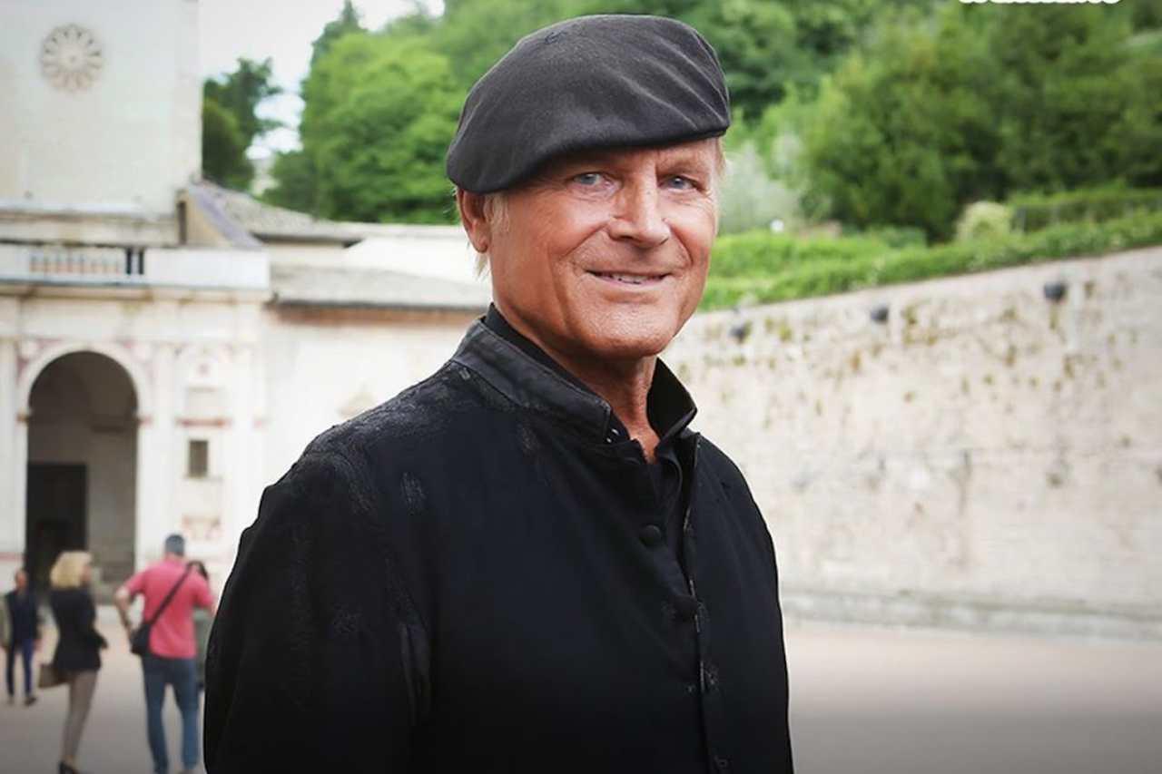 Don Matteo, Terence Hill (foto © Tv Sorrisi e Canzoni).