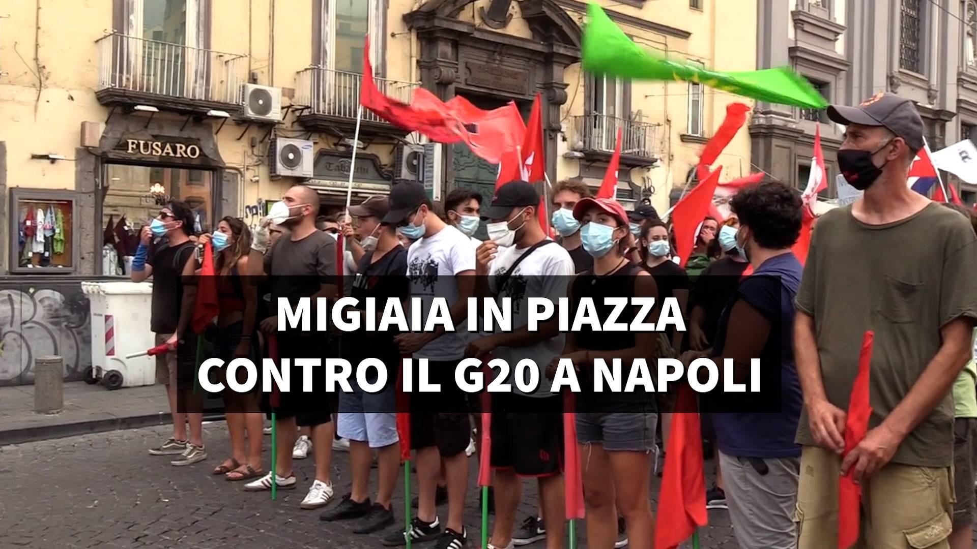 g20 protesta napoli