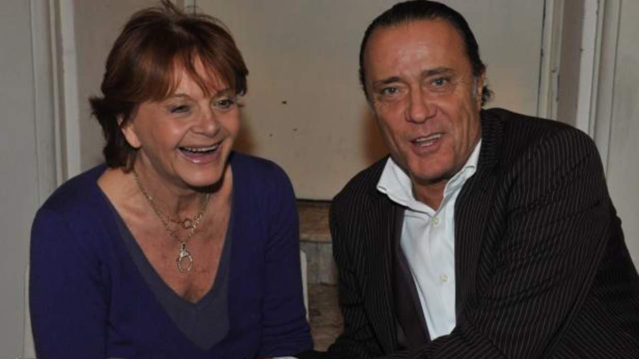 Il cantante Gianni Nazzaro con la moglie Nadia Ovcina (foto Instagram).
