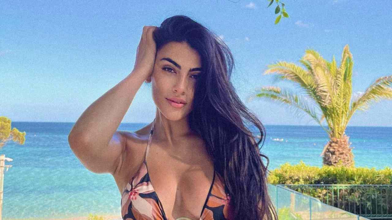 La presentatrice ed influencer Giulia Salemi (foto Instagram).