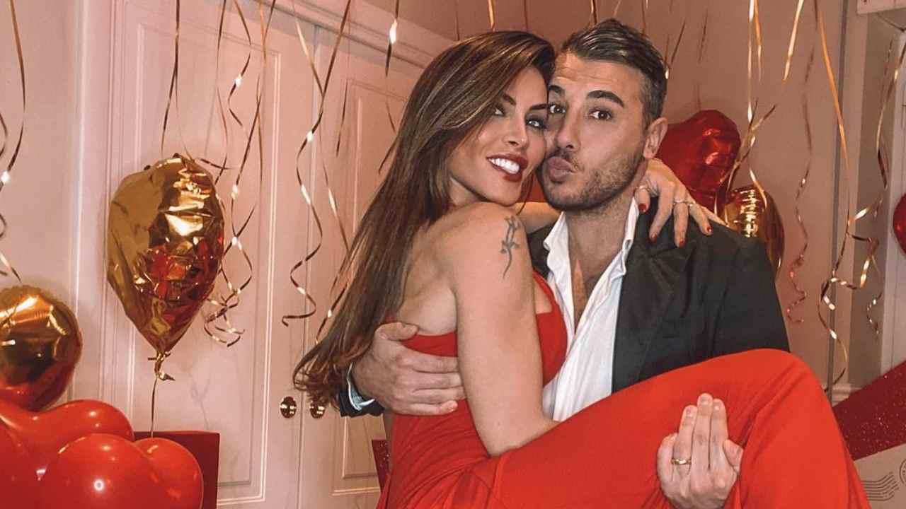 L'influencer Guendalina Tavassi festeggia San Valentino con il marito (video Instagram).