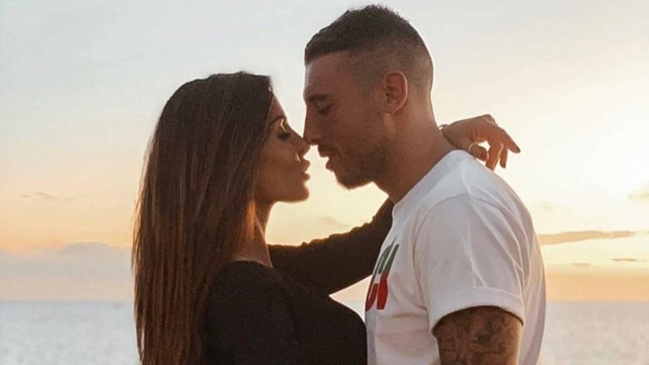 L'influencer Guendalina Tavassi con l'ex compagno Umberto D'Aponte (Storie Instagram).