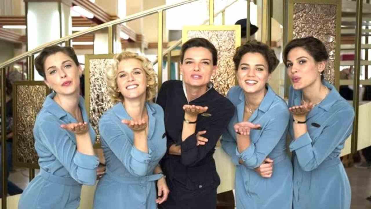 """Alcune delle protagoniste della soap opera """"Il Paradiso delle Signore"""" (foto © La Repubblica)."""