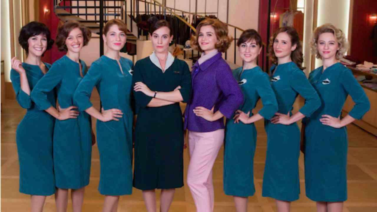 """La serie Tv """"Il paradiso delle signore"""" (foto Rai)."""