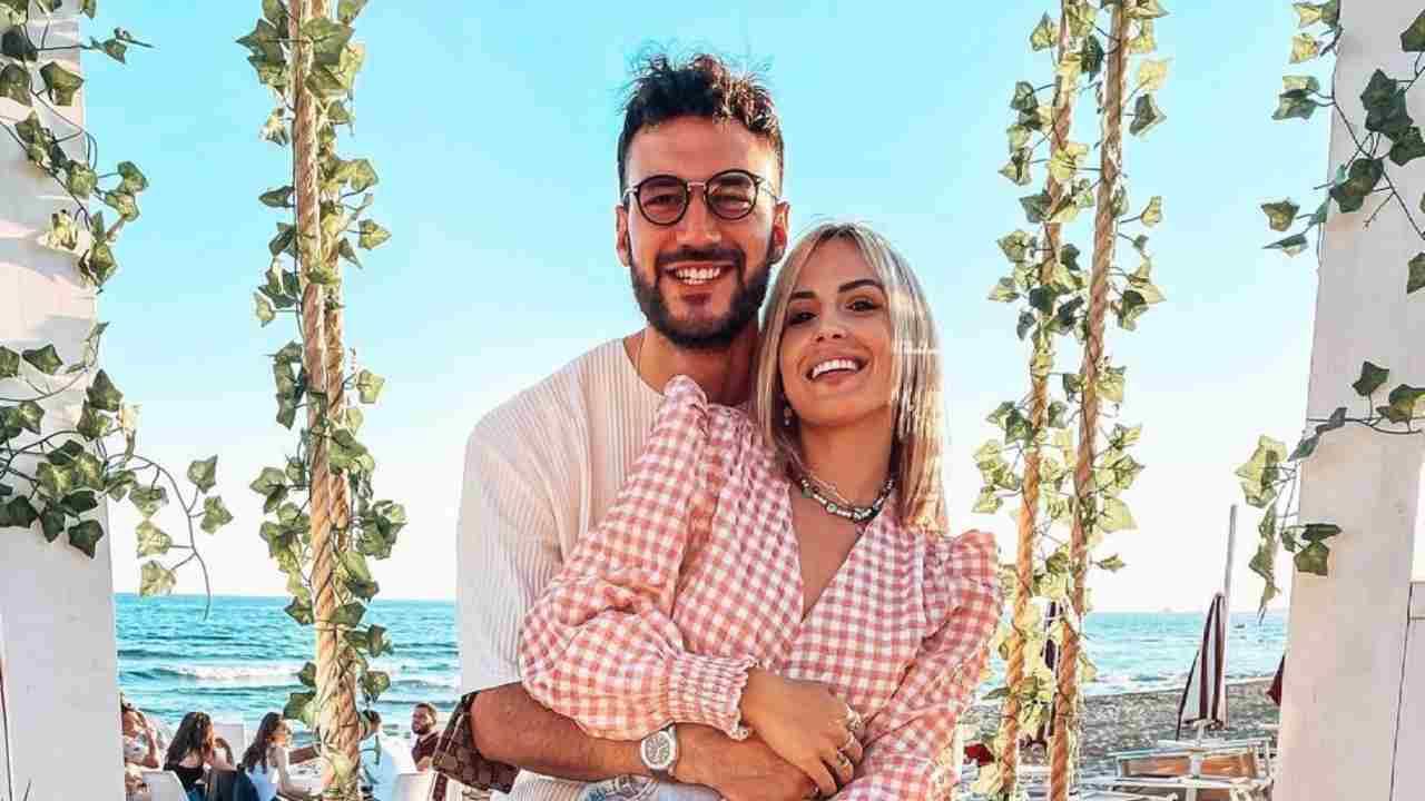 Uomini e Donne, Lorenzo Riccardi e Claudia Dionigi (foto Instagram).