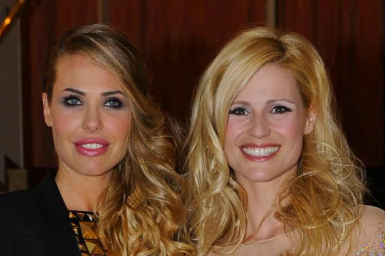 Le conduttrici televisive Ilary Blasi e Michelle Hunziker (foto Instagram).