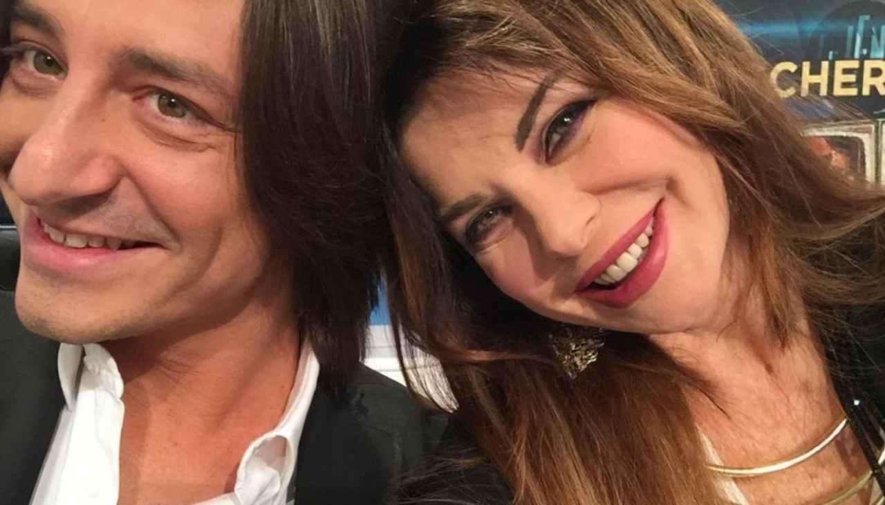 Madre e figlio: Alba Parietti e Francesco Oppini (foto Instagram).