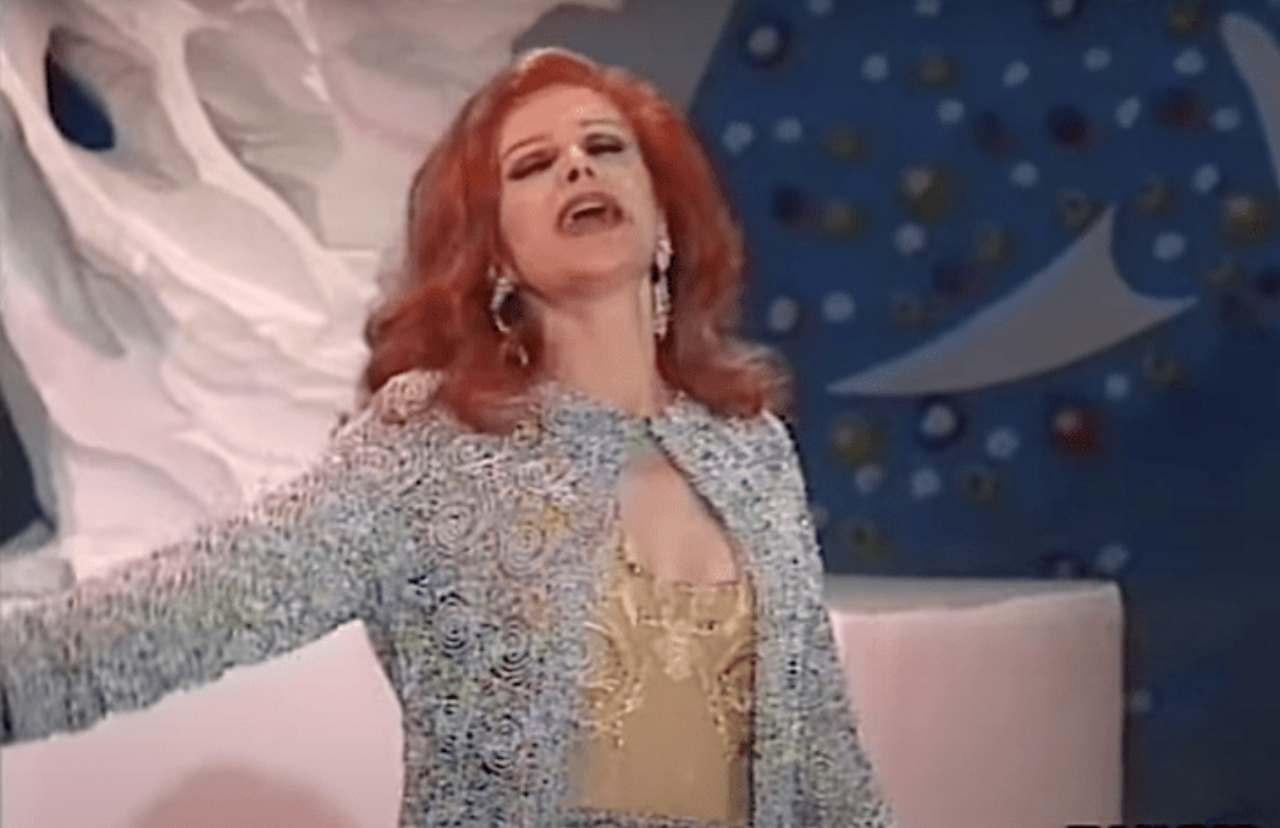 L'artista Milva, protagonista della puntata di Techetechete' del 17 luglio (foto Rai).