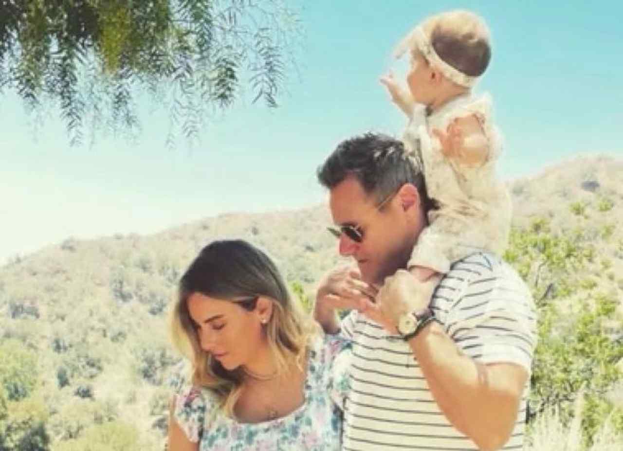 L'ex marito di Meghan Markle Trevor Engleson con la nuova moglie Tracey Kurland ed il primo figlio (foto Instagram).