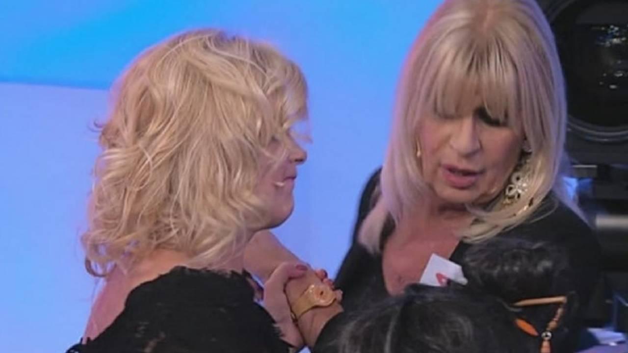 Uomini e Donne, Trono Over: Tina Cipollari e Gemma Galgani (foto Getty Images).
