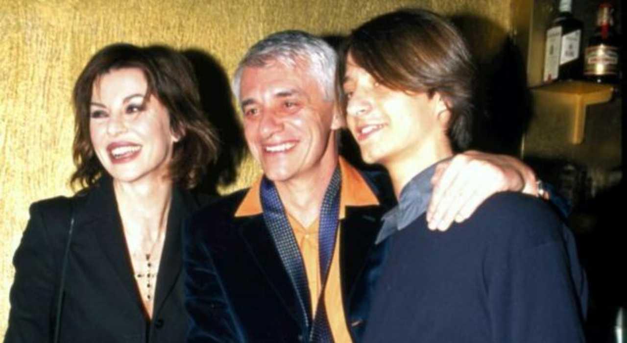 I genitori di Francesco Oppini: Franco e Alba Parietti (foto Il Messagero).