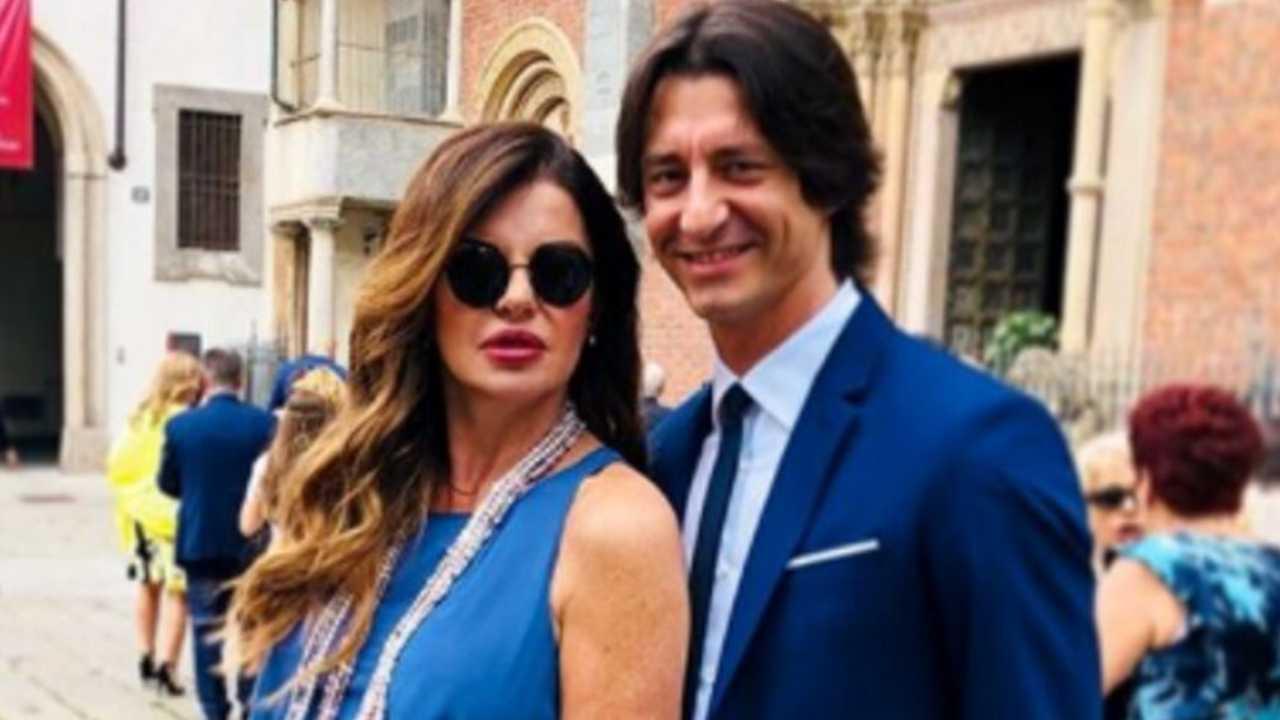 Pronti per il matrimonio: Alba Parietti e Francesco Oppini (foto Instagram).