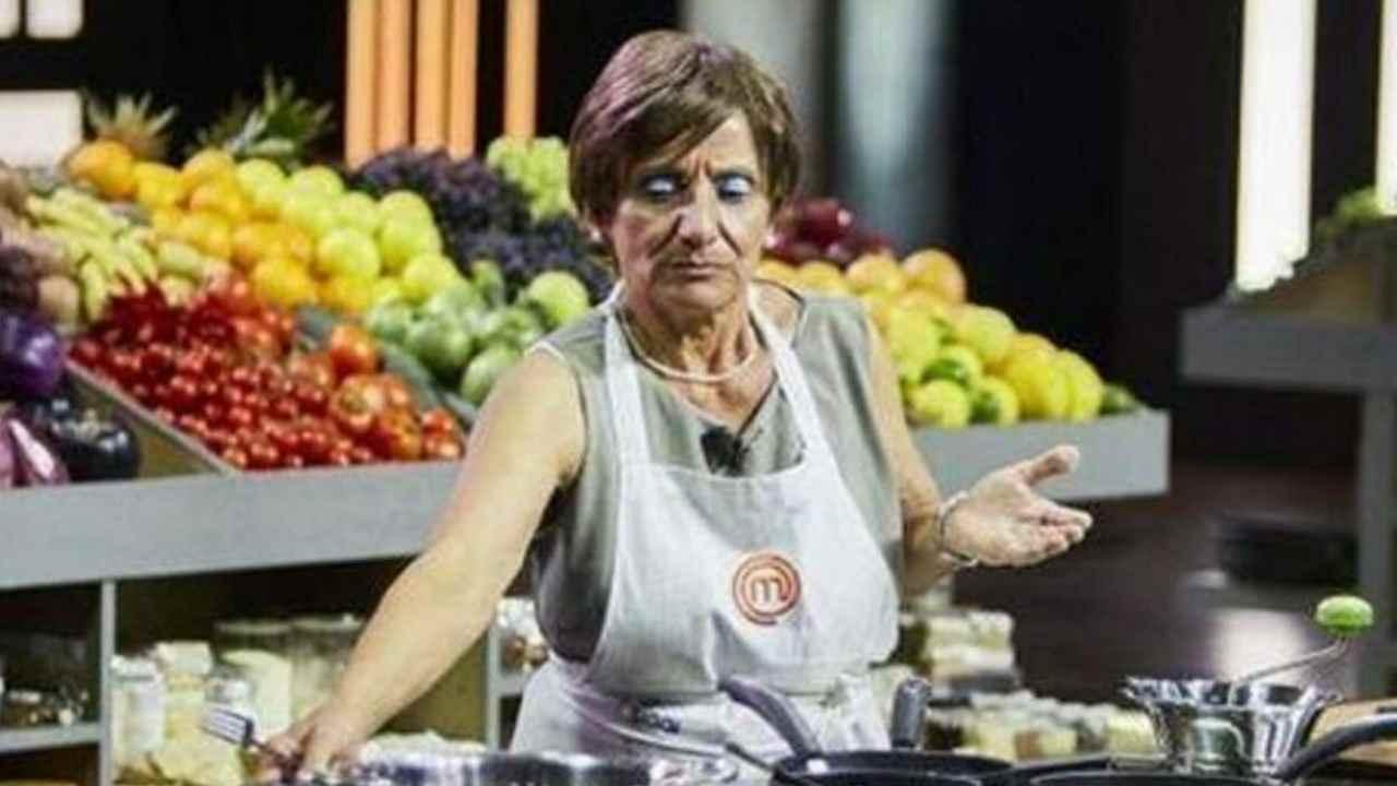 Il cooking-show Masterchef e la concorrente Anna Martelli (foto Sky).