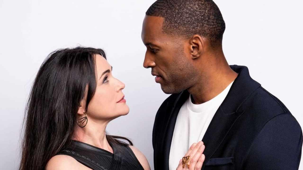 Anticipazioni Beautiful: gli amanti Quinn e Carter (foto CBS).