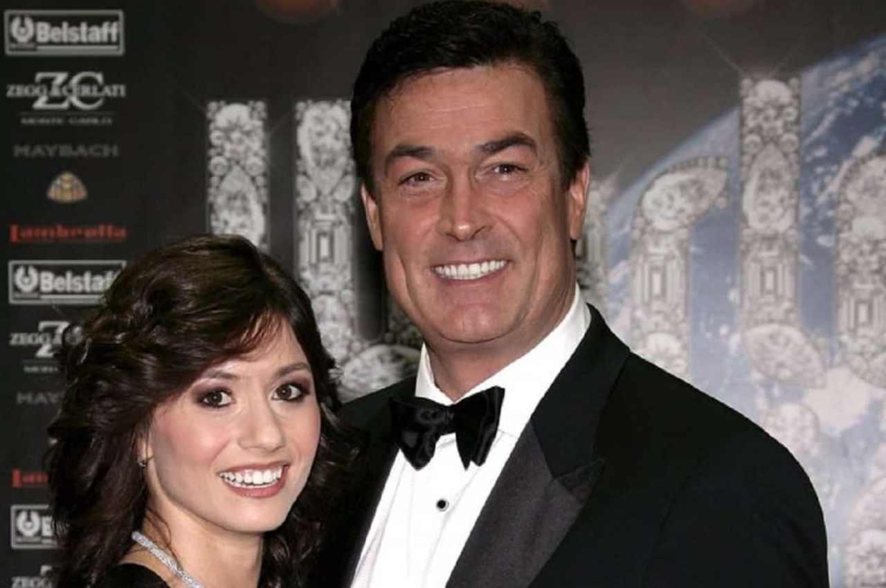Ex marito e moglie: Daniel McVicar, alias Clark Garrison in Beautiful, e Virginia De Agostini (foto Ansa).