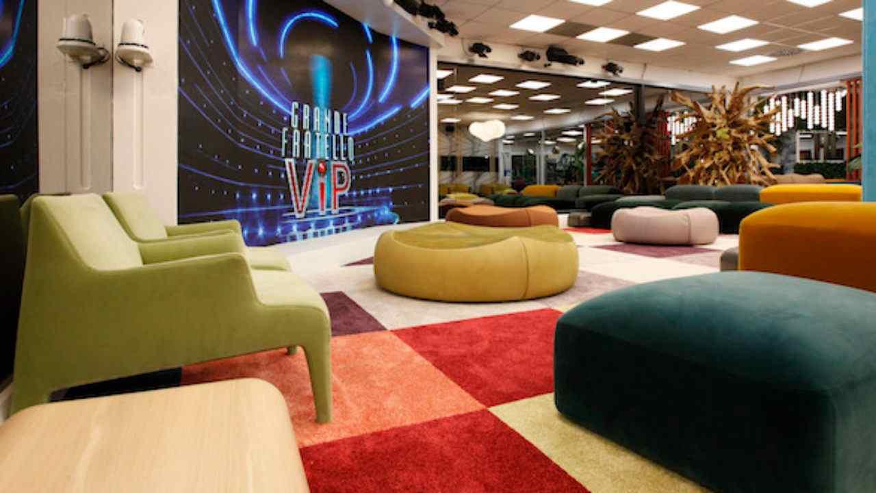 La Casa dell'ultima edizione del Grande Fratello; come sarà quella del GF Vip 6? (foto Mediaset).