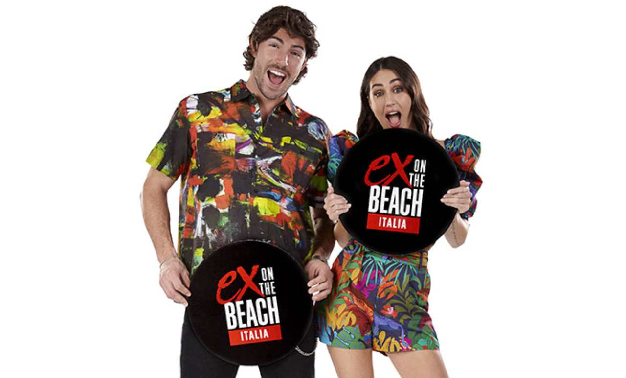 MTV, i conduttori di Ex on the beach: Ignazio Moser e Cecilia Rodriguez.