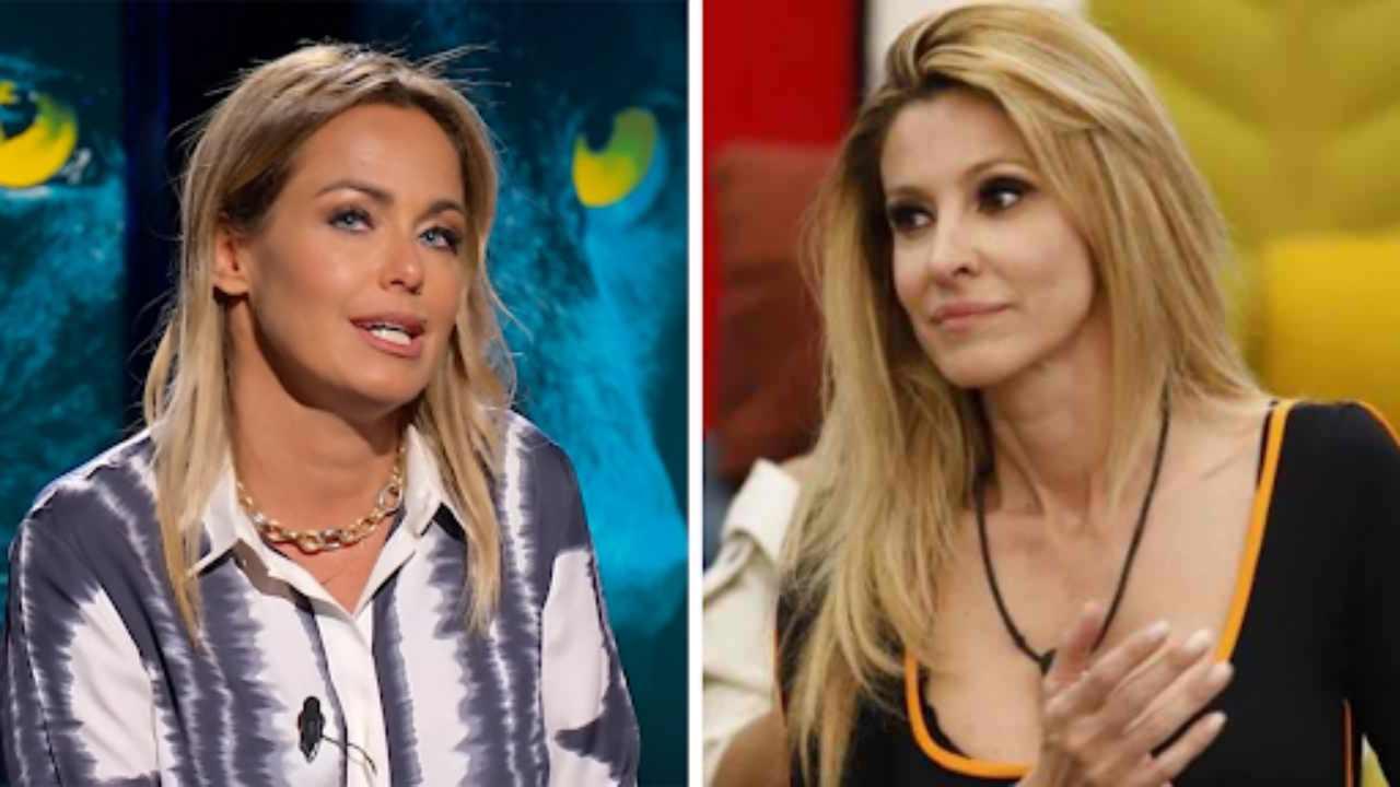 GF Vip 6, le due opinioniste ufficiali: Sonia Bruganelli ed Adriana Volpe (foto Mediaset).