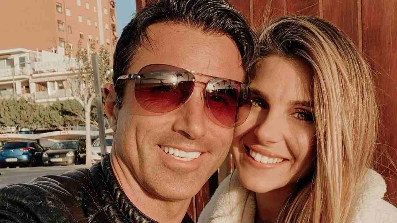 Mamma e papà: Ivana Icardi con il suo Hugo Martin Sierra (foto Instagram).