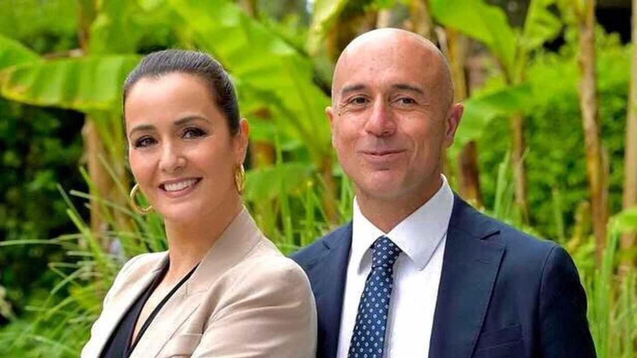 Estate in Diretta: i conduttori Roberta Capua e Gianluca Semprini (foto Rai).