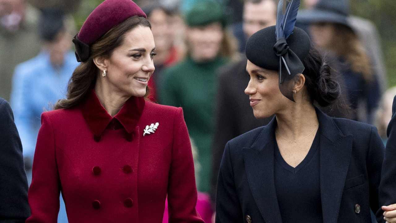 Royal Family, Kate Middleton e Meghan Markle (foto Getty Images).