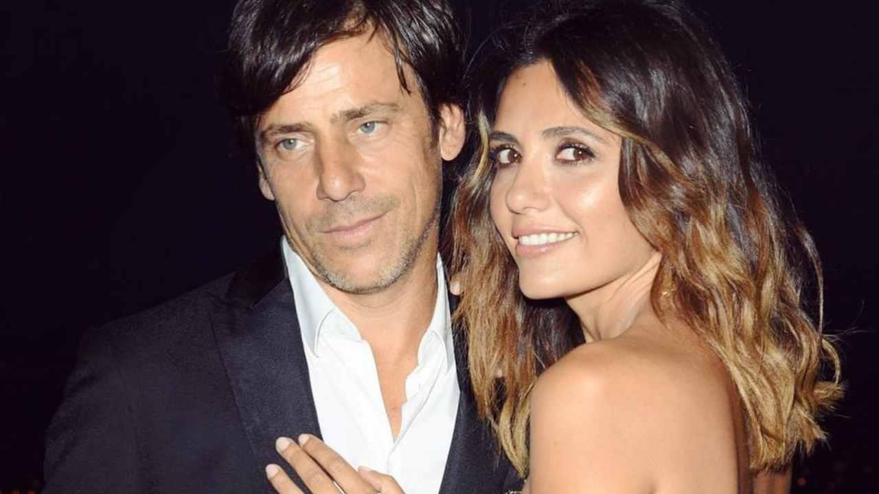 L'attrice Serena Rossi con il Marito Davide Devenuto (foto Instagram).