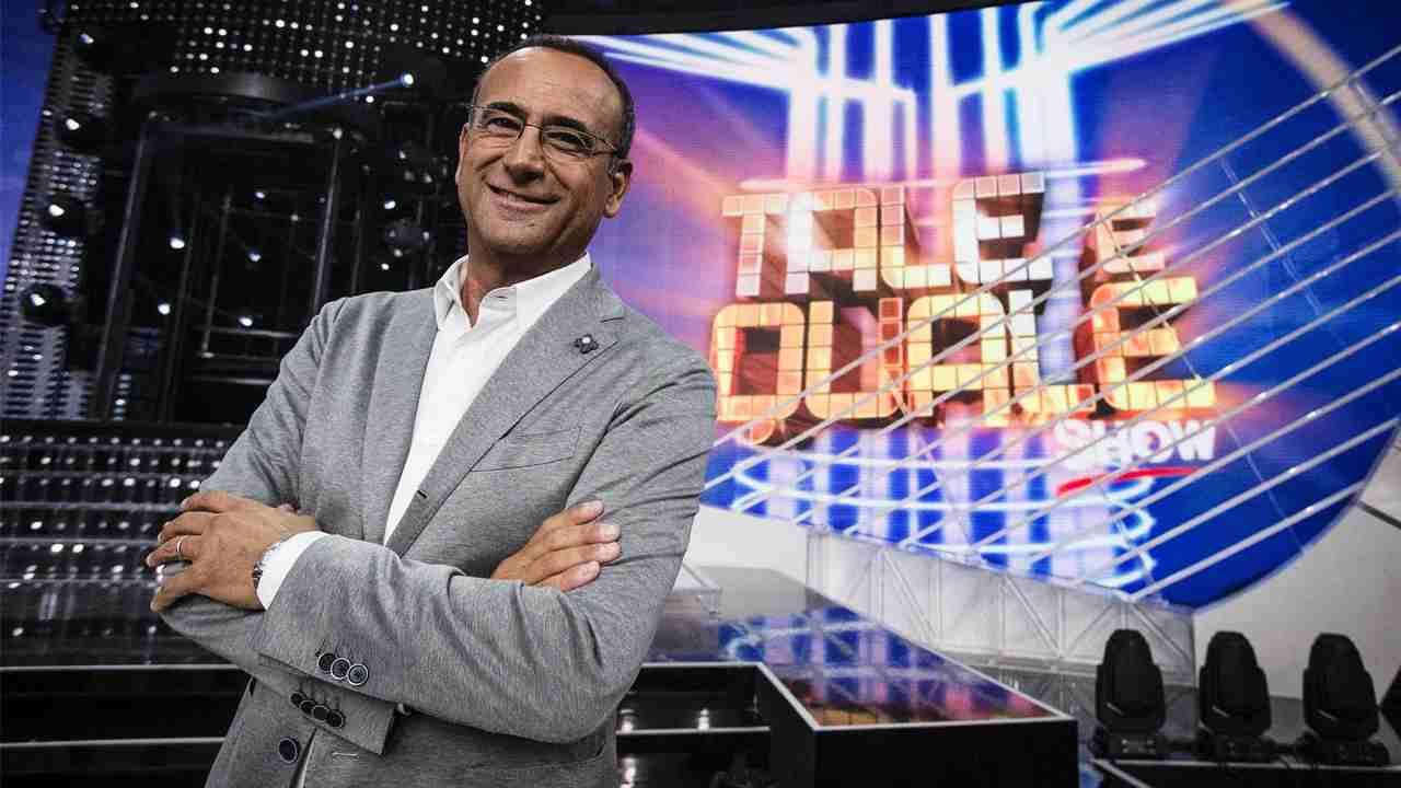 Il conduttore di Tale e Quale Show, Carlo Conti (foto Rai).