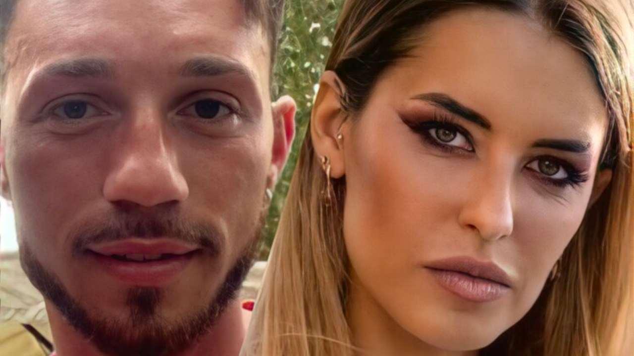 Temptation Island 2021: la coppia nata durante il reality e formata da Carlotta Adacher ed Alessandro Autera (foto Instagram).