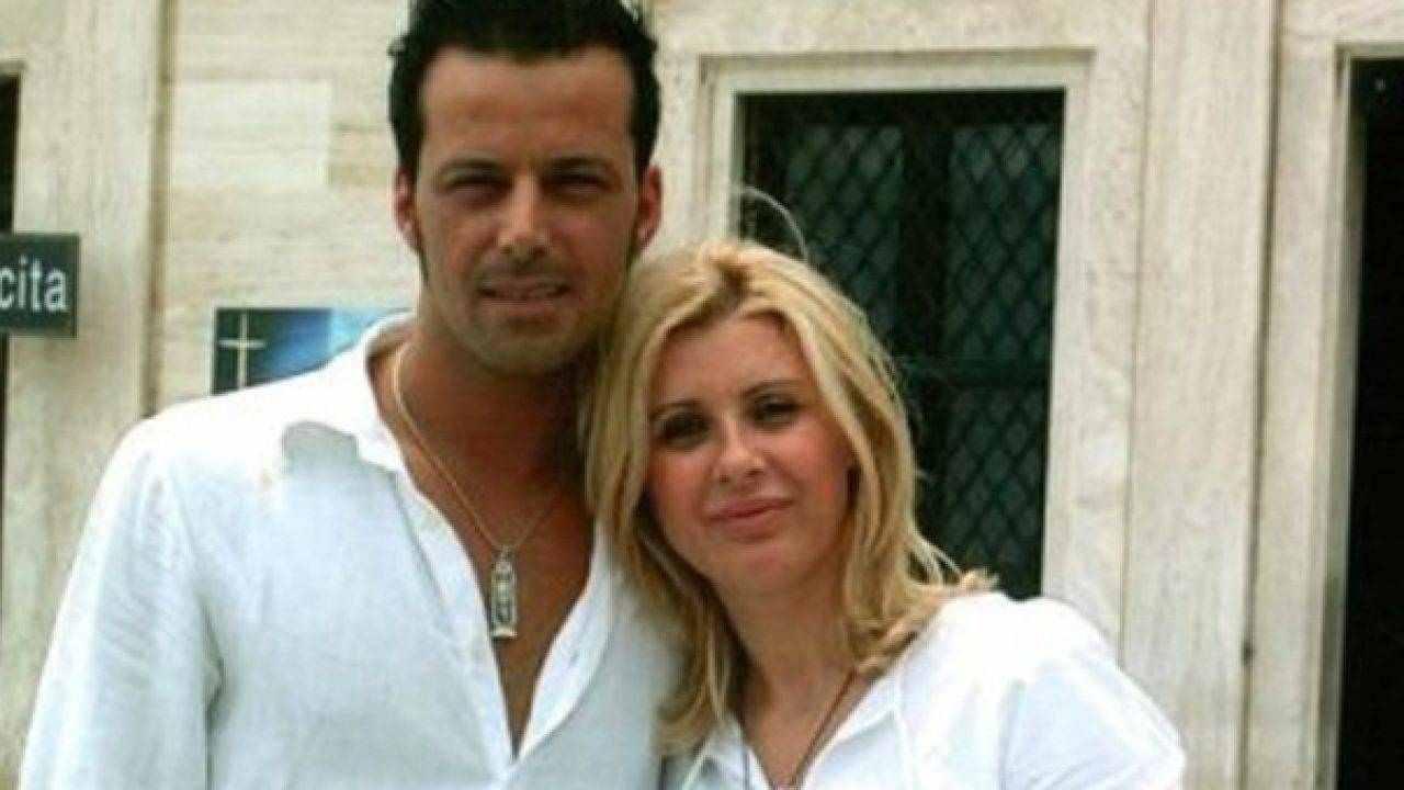 L'opinionista di Uomini e Donne, Tina Cipollari con l'ex compagno Kikò Nalli (foto Mediaset).