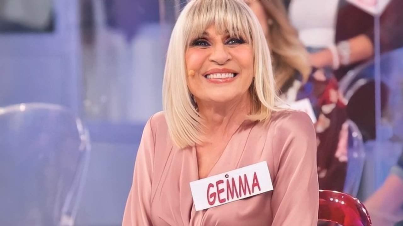 La storica presenza nello studio di Uomini e Donne, Gemma Galgani (foto Mediaset).
