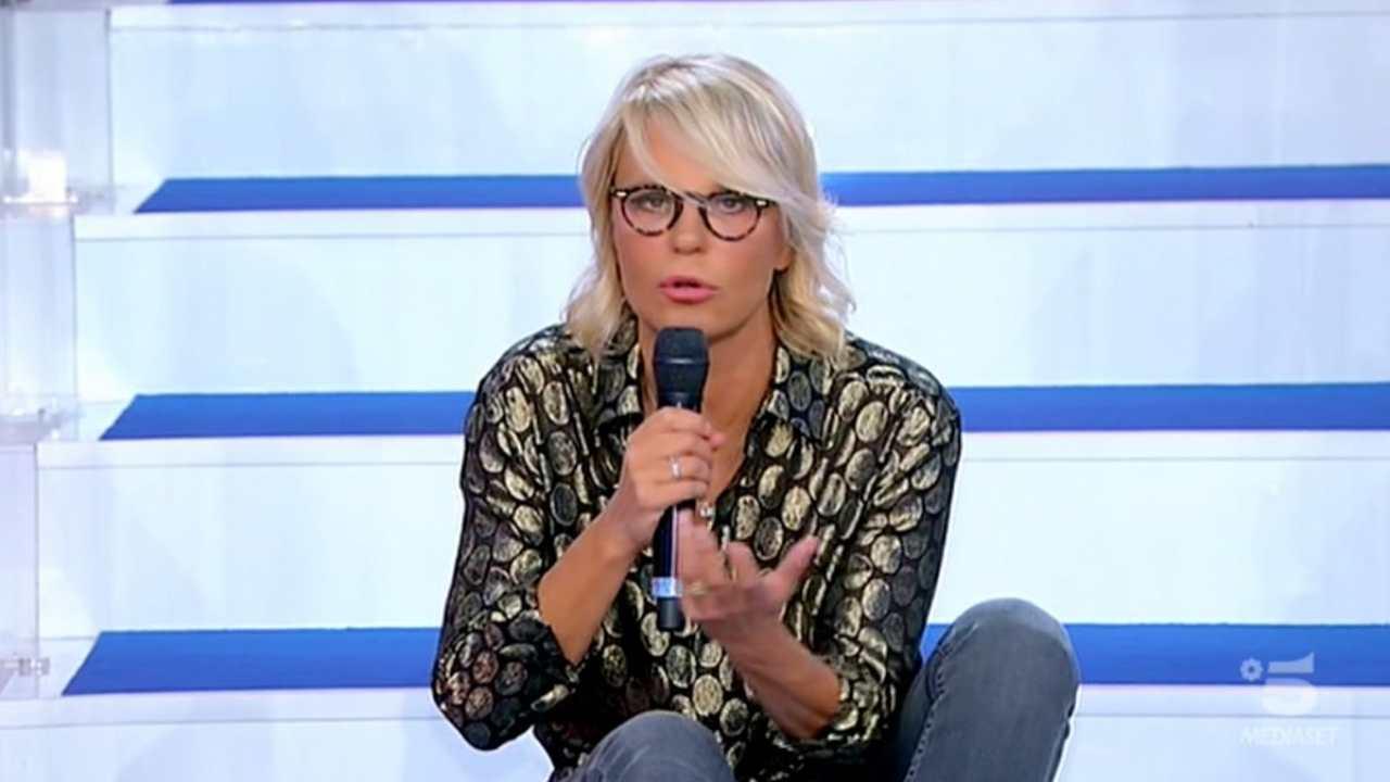 La conduttrice di Uomini e Donne, Maria De Filippi (foto Mediaset).