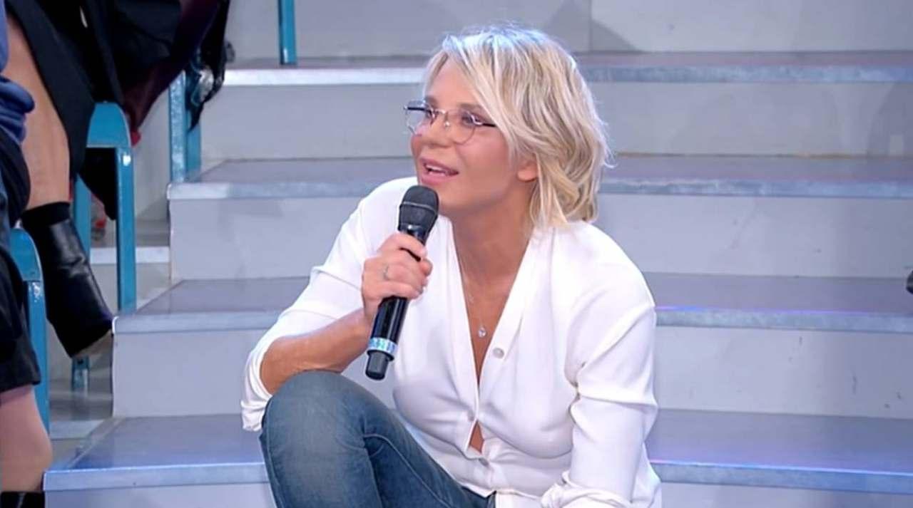 Uomini e Donne, la conduttrice Maria De Filippi (foto Mediaset).