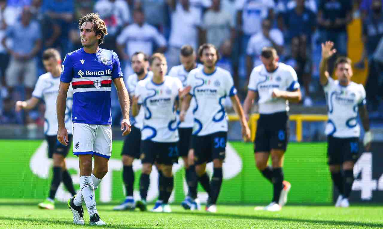 sampdoria-inter highlights