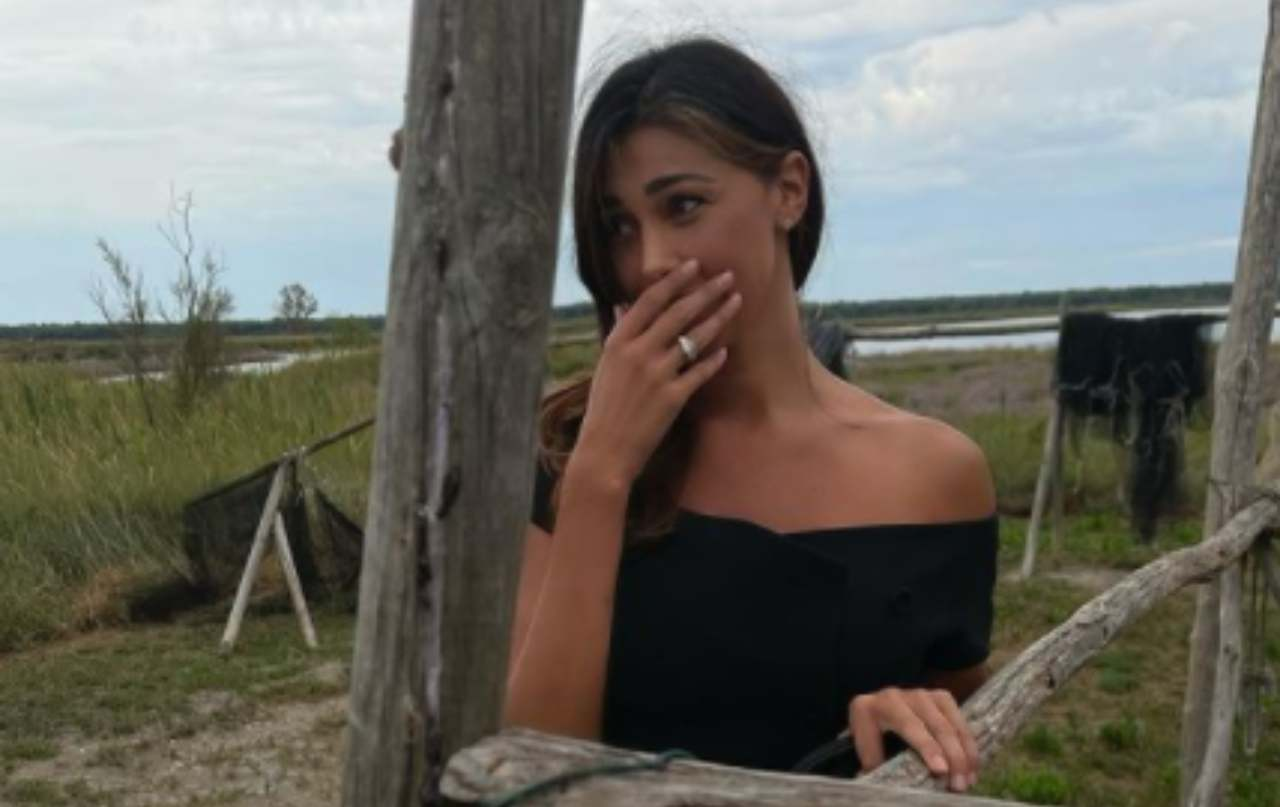 Belen Rodriguez, risveglio sensazionale