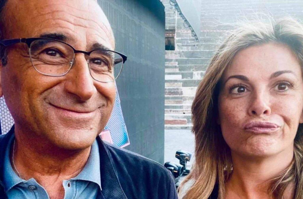 Carlo Conti e Vanessa Incontrada